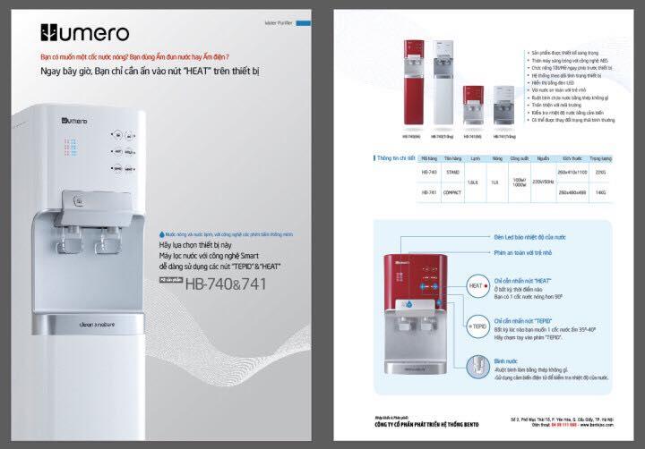 Kết quả hình ảnh cho Máy lọc nước HUMERO Nóng lạnh đứng HB-750